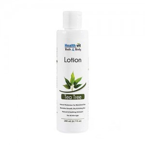 Healthvit Bath and Body Tea Tree Lotion, 200ml