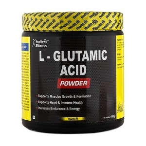 Healthvit Fitness Glutamic Acid  Powder 100GMS