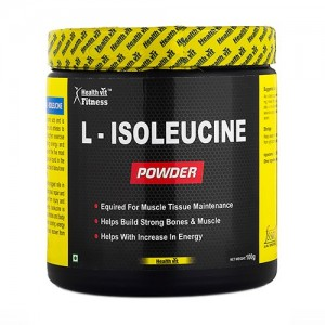 Healthvit Fitness L-Isoleucine Powder 100GMS