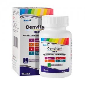 Healthvit Cenvitan Man (Multivitamin & Multimineral) 60 Tablets