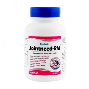 Healthvit Jointneed-RM Glucosamine, Rose Hip, MSM 60 Tablets