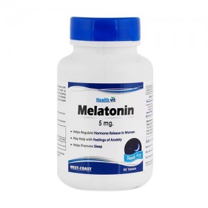 Healthvit Melatonin 5mg 60 Tablets