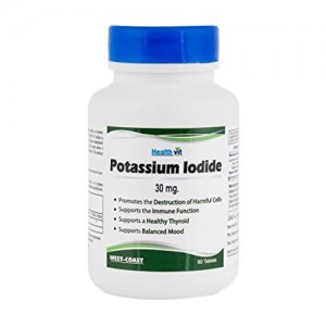 Healthvit Potassium Iodide 30mg 60 Tablets