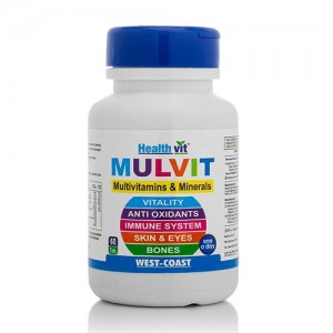Healthvit Mulvit Multivitamins and Minerals 60 Tablets