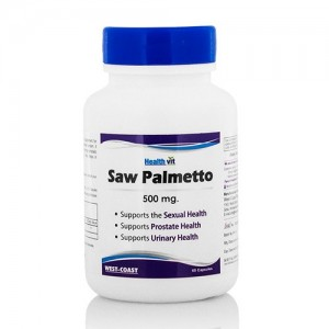 Healthvit Saw Palmetto 500mg 60 Capsules
