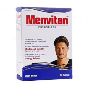 West-Coast Menvitan Original Multivitamin for Men - 30 Tablets