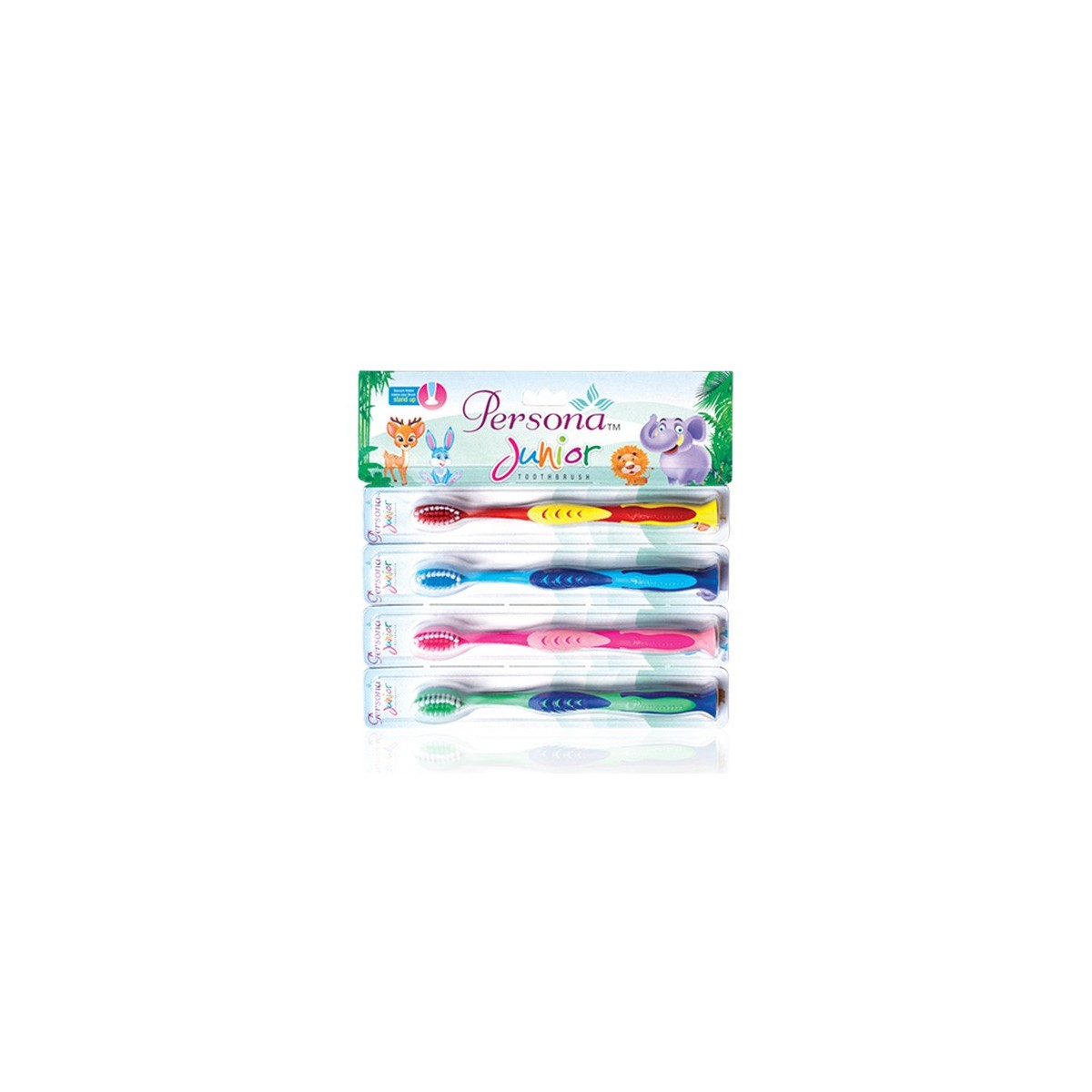 Amway Persona Junior Toothbrush (Pack of 4)