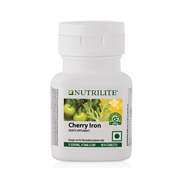Amway Nutrilite Cherry Iron (90 Tablets)