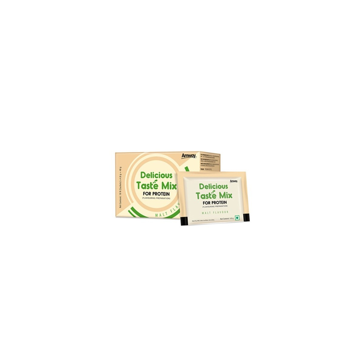 Amway Delicious Taste Mix for Protein(Malt Flavour)
