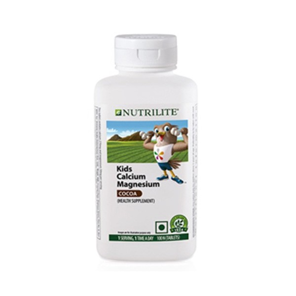 Amway Nutrilite Kids Calcium Magnesium Cocoa (100 tablets)