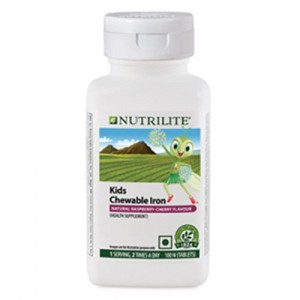 Amway Nutrilite Kids Chewable Iron (100 tablets)