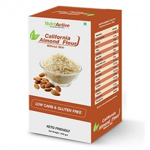 NutroActive California Almond Flour Without Skin