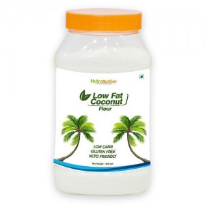 NutroActive Low Fat Coconut Flour/Powder