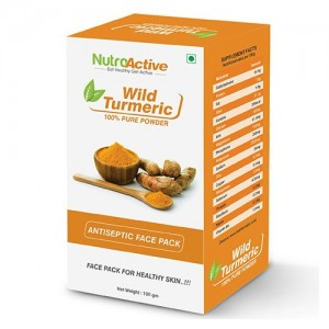 Nutroactive Wild Turmeric Face Pack Powder