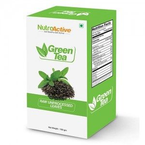 NutroActive Green Tea Leaves 100 gm