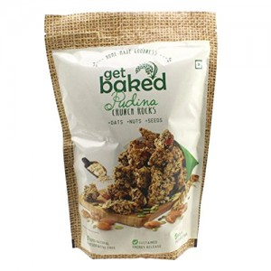 Get Baked - Pudina Crunch Rocks Oat Granola Healthy Snack 50 gm