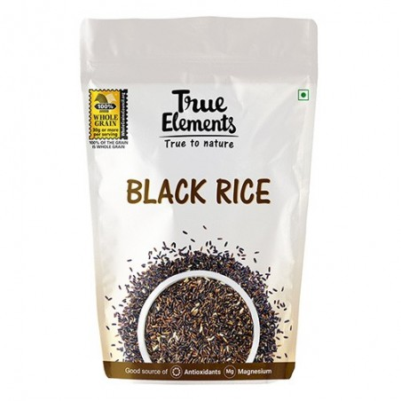 True Elements Nutritional Grains Chak-Hao Black Rice 500 gm