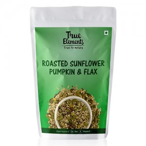 True Elements Roasted Sunflower Flax & Pumpkin 125 g