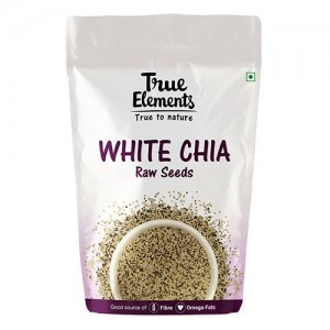 True Elements White Chia Seeds 250 g
