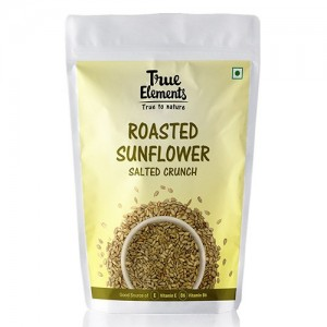 True Elements Salted Roasted Sunflower Seeds 125 g