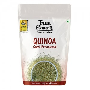 True Elements Gluten Free Quinoa, 1kg (Semi Processed)