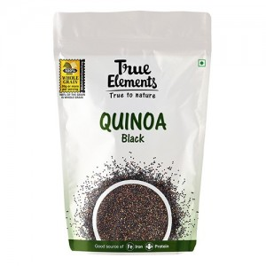 True Elements Black Quinoa, 500g