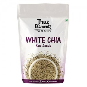 True Elements White Chia Seeds 500gm