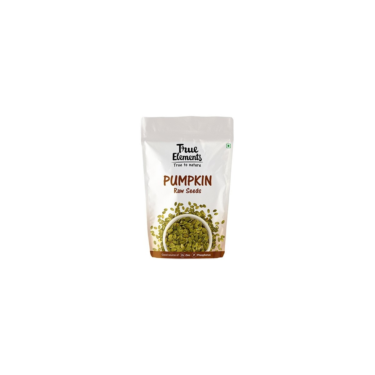 True Elements Raw Pumpkin Seeds, 500g