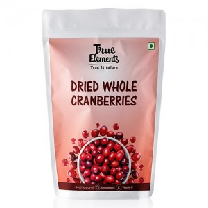True Elements Dried Cranberries 150 g
