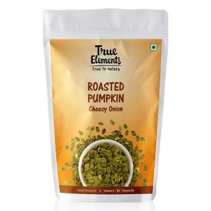 True Elements Harippa Roasted Pumpkin Seeds Cheesy Onion 100 g