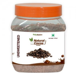 NutroActive Natural Cocoa Powder 200 gm