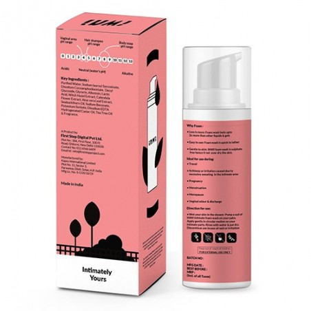 Intimate Foaming Wash with Seabuckthorn Oil, Calendula & Witch Hazel Extract by InWi