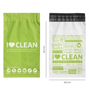 BodyGuard - Baby Diapers and Sanitary Disposal Bag - 15 Bags product