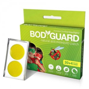 BodyGuard Premium Natural Anti Mosquito Patches - 20 + 4 Patches