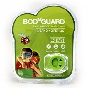 BodyGuard Refilling Anti Mosquito Bands - 1 Band + 2 Refills
