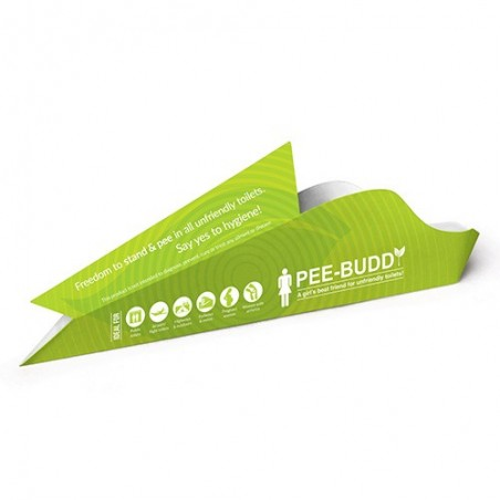 PeeBuddy - Disposable, Portable Female Urination Device for Women - 5 Funnels product