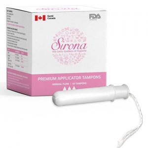 Premium Applicator Tampons by SIRONA -Normal Flow (16 Pcs)
