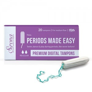 SIRONA - Premium Digital Tampon (Medium Flow) - 20 Tampon