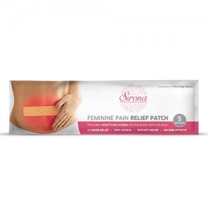 SIRONA - Feminine Pain Relief Patches - 5 Patches (1 Pack - 5 Patches Each)