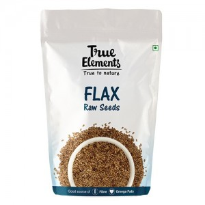 True Elements Raw Flax Seeds 250gm