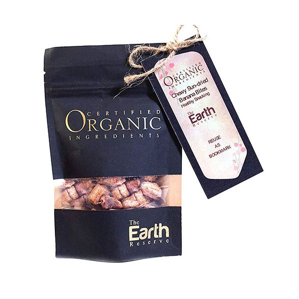 The Earth Reserve Chewy Sundried Banana Bites