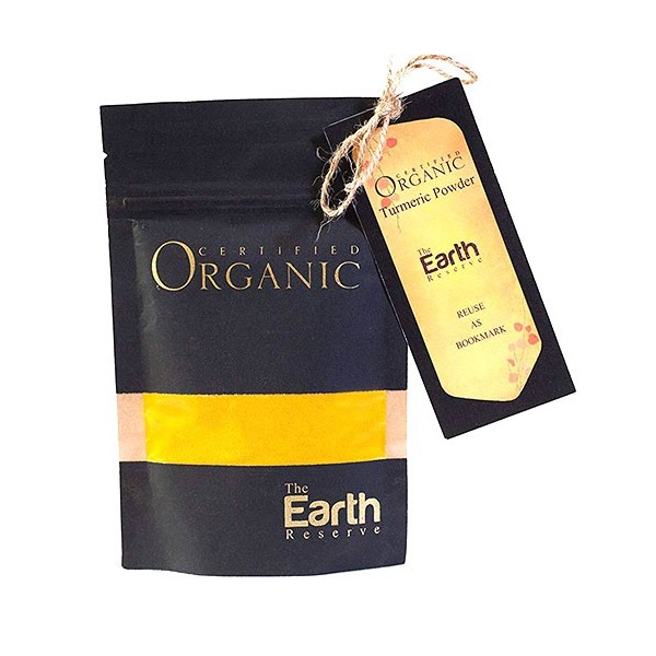 The Earth Reserve Organic Turmeric Powder