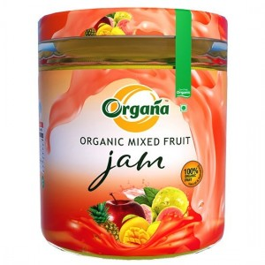 Organa Organic Mixed Fruit Jam 200 g