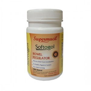 SUPERMUCIL SoftoGol Psyllium with Senna : 300 Gms (Combo Pack) (3X300 Gms)