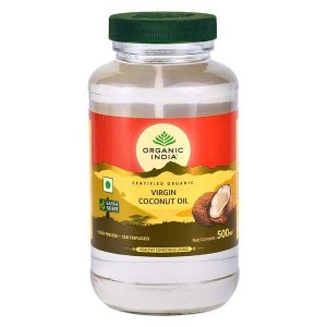 Organic India Coconut Oil Extra Virgin 500 Ml