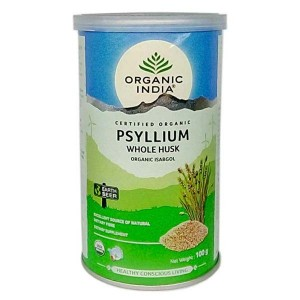 Organic India Psyllium Husk 100 Gm
