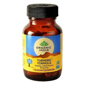 Organic India Turmeric 60 Capsules Bottle