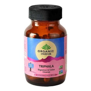 Organic India Triphala 60 Capsules Bottle