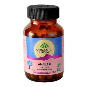 Organic India Amalaki 60 Capsules Bottle