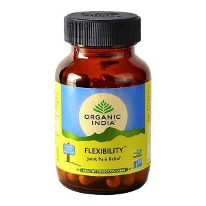 Organic India Flexibility 60 Capsules Bottle